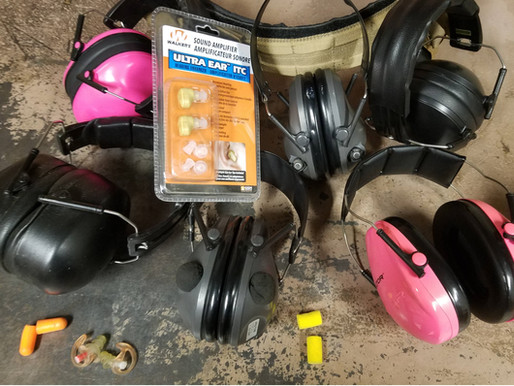 Beginners Gear: Part 3- Your hearing protection might not be enough!