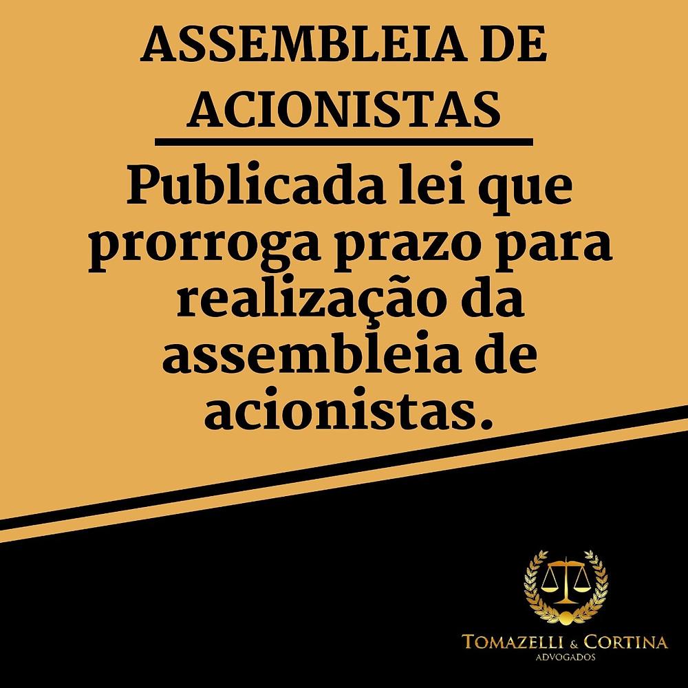 assembleia de acionistas