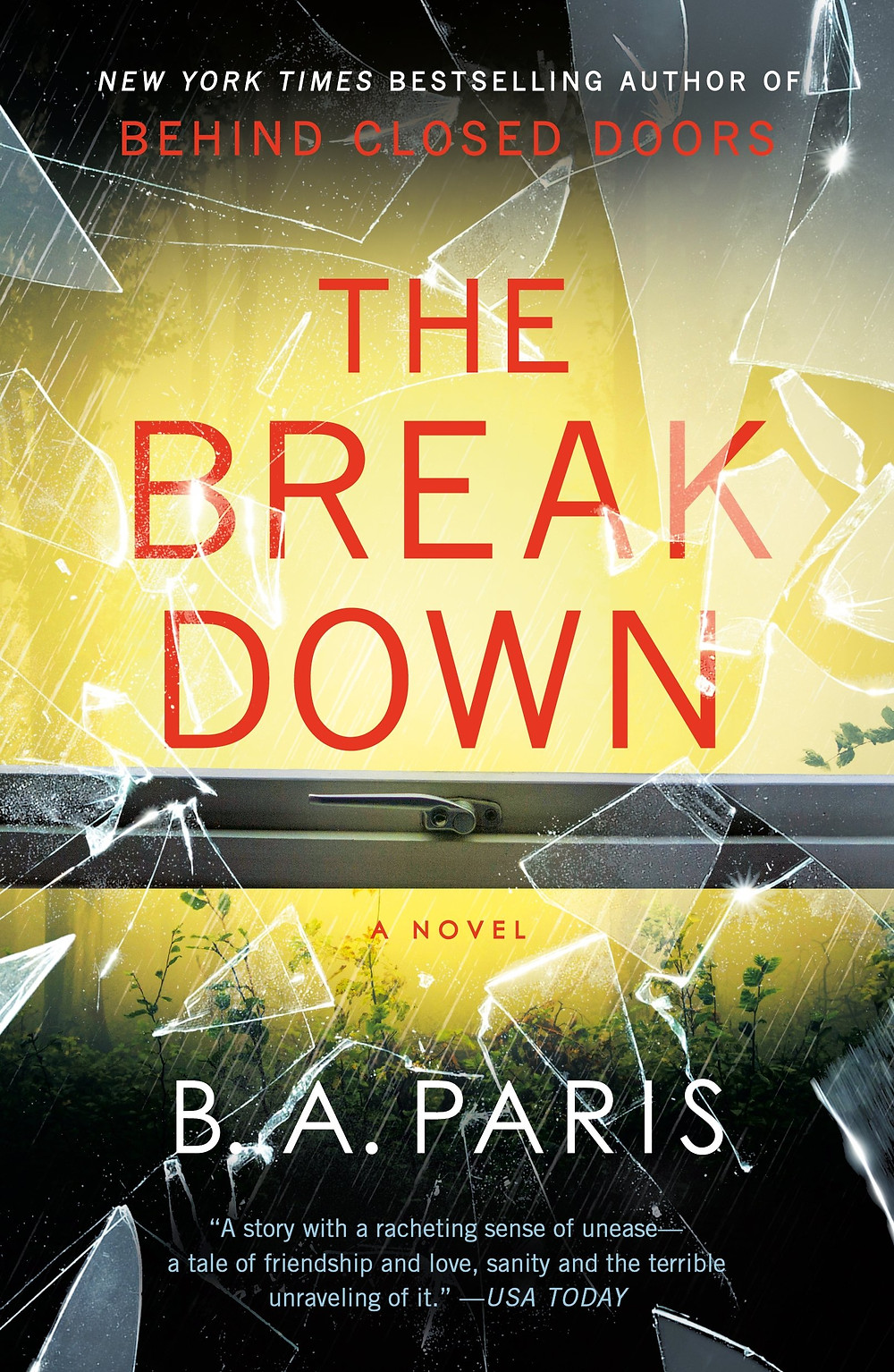 The Breakdown by B.A. Paris : the book slut book reivews thebookslut