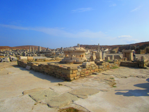 Archaeological Site of Delos | Mykonos