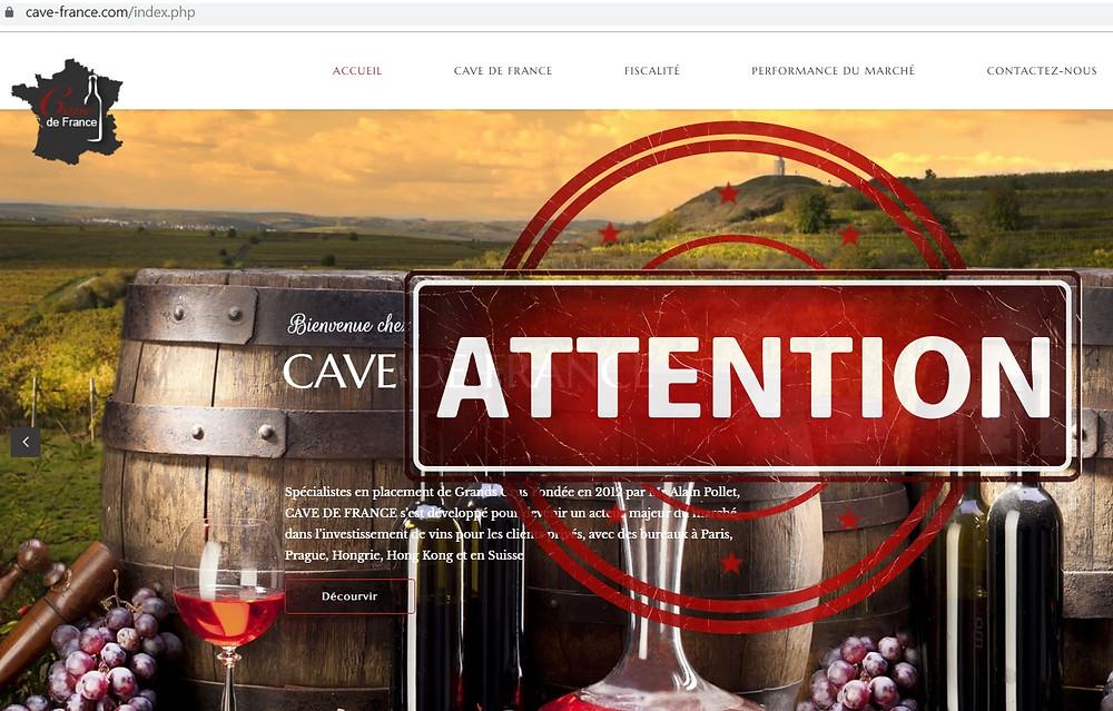 Cave de France AVIS