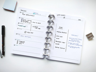 Limited Edition Novel Planners in Stock