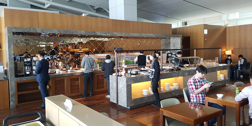 Asiana Business Class Lounge, Seoul Incheon Airport