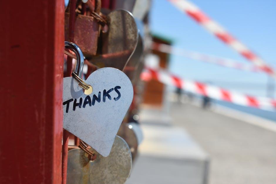 agradecer, amor, palabras, motivación, sé el jefe, hectorrc.com