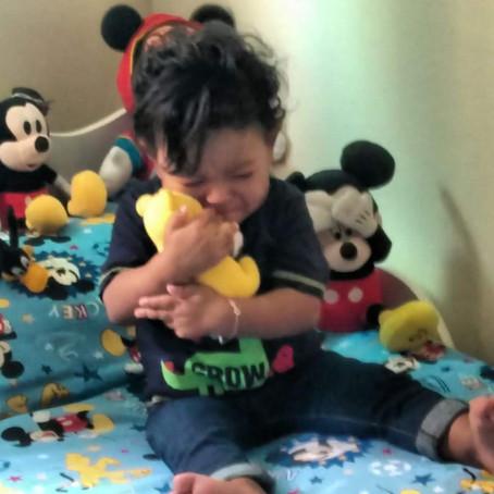 Em 05/2018 o iluminado menino Miguel sai do hospital pela primeira vez na vida.