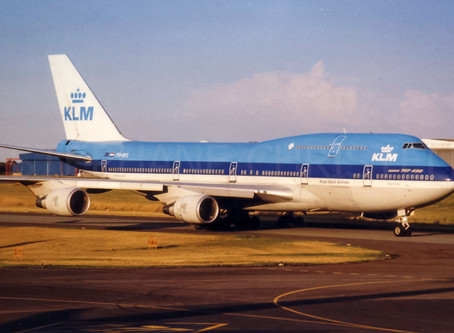 "KLM # Retires its B747 ""Queen of the Skies"""