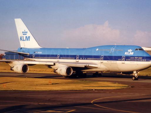"KLM # Retires its B747 ""Queen of the Skies"""