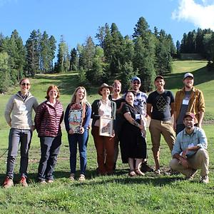 2019 Cordell/Powers Prize Participants (Photo by Kellam Throgmorton)