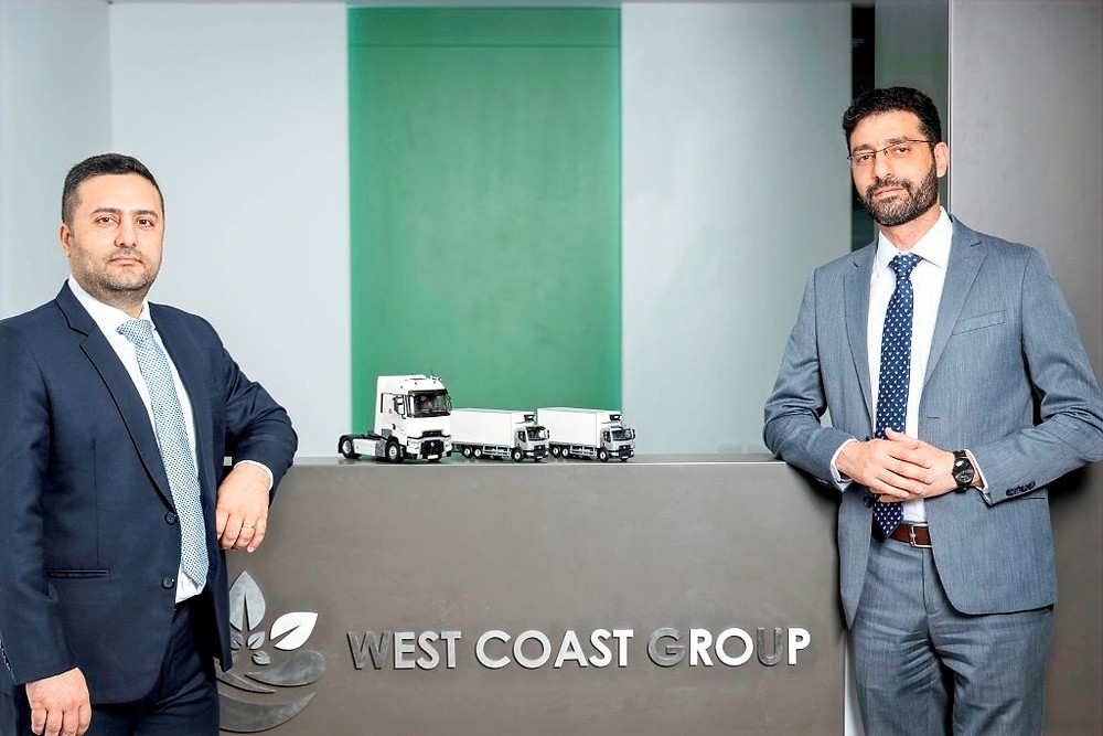 (L-R) - Dany Rmeily, CEO of West Coast Group and Mohamed Zeftawi, General Manager of Al Masaood Commercial Vehicles & Equipment