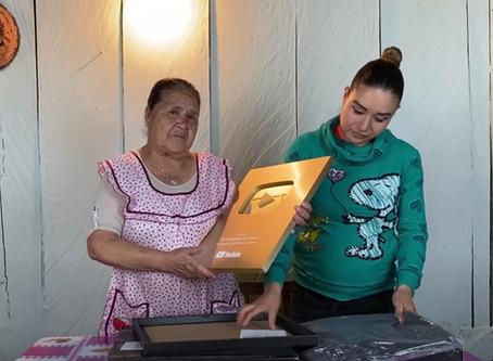 Doña Ángela, la youtuber que promueve la cocina rural