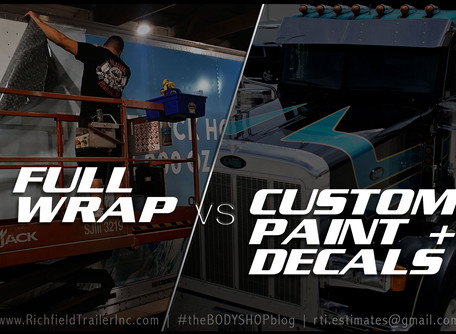 FULL WRAP VS. CUSTOM PAINT + DECALS | The Pros + Cons to Each