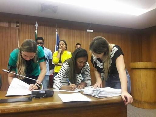 Assinatura de Ata na Assembleia Legislativa do Ma.