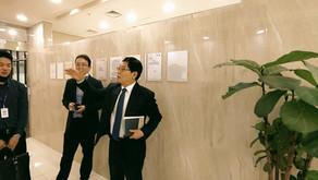 Goyang city officers visit MDK