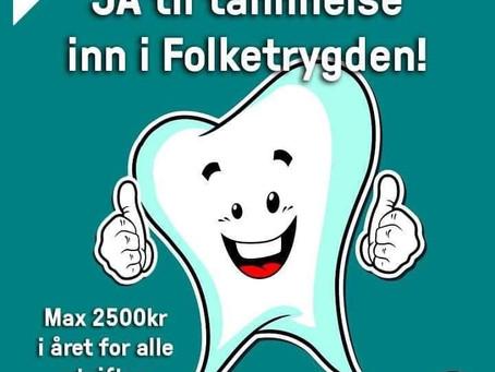 Hva med tennene våre ?