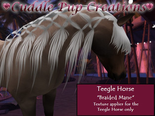 ♥Cuddle Pup Creations♥ Mane, Tail, Eye, and Skin Textures