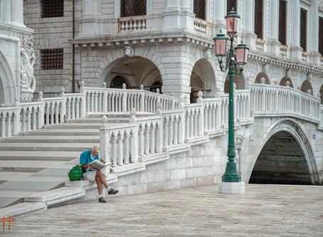 Fotografando Venezia durante la pandemia.
