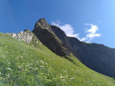 Rädlergrat (70°, 6) am Himmelhorn