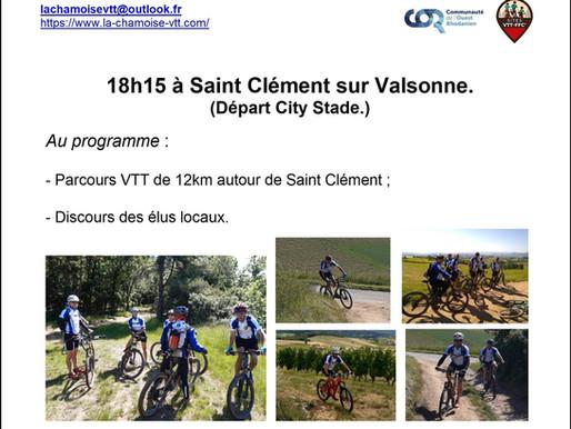 Présentation du site VTT FFC Beaujolais Vert.