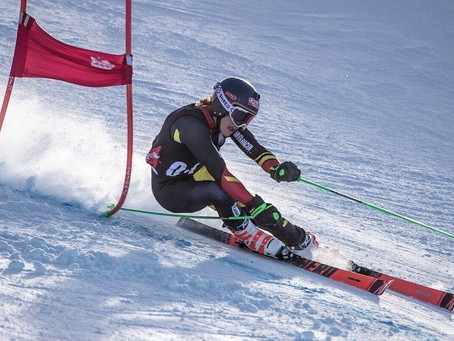 Sam 1st win of the season, down under, in Queensland New Zealand. Giant Slalom ANC-Cup, Coronet Peak