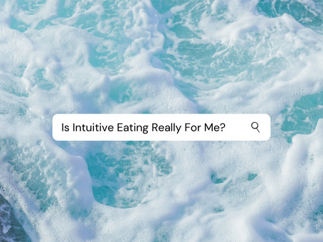 Is Intuitive Eating Really For Me???