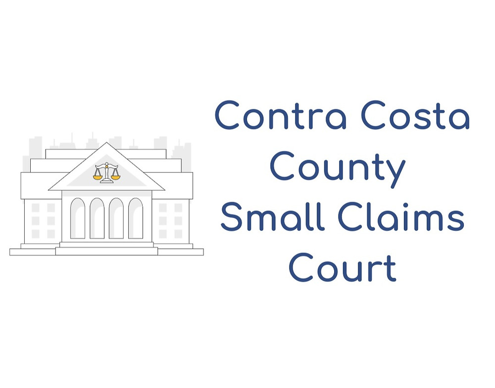 How to file a small claims lawsuit in Contra Costa County Small Claims Court