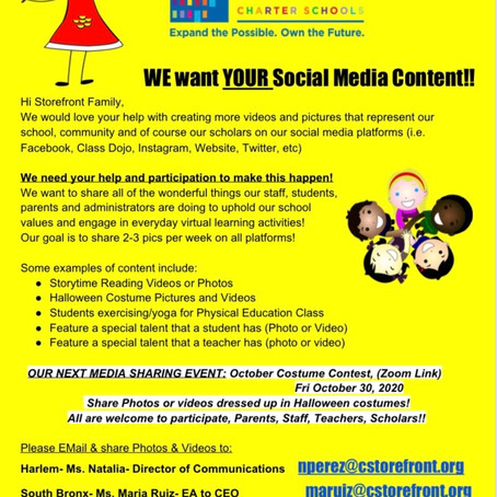 Help our Social Media Platforms Grow!