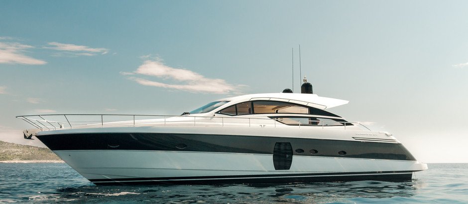 Solgt! M/Y First Lady - Pershing 64