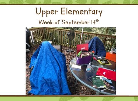 A month together in Upper El! (9/14-9/18)