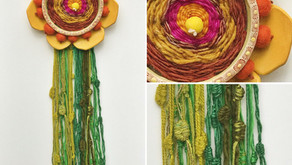 Flower Weaving Wall Hanging