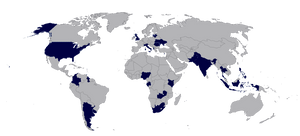 Cambridge Analytica Scandal World Map View