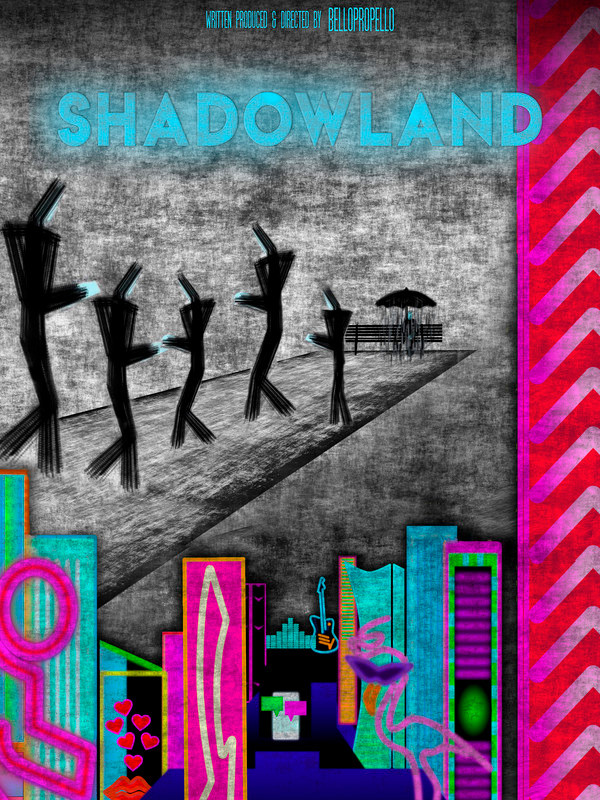 Poster for Shadowland showing animation.