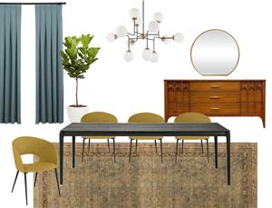 Midcentury Modern Dinning Room Design Ideas
