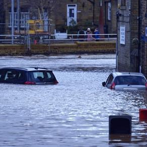 Man dies after tree falls on car as Storm Ciara wreaks havoc across the UK
