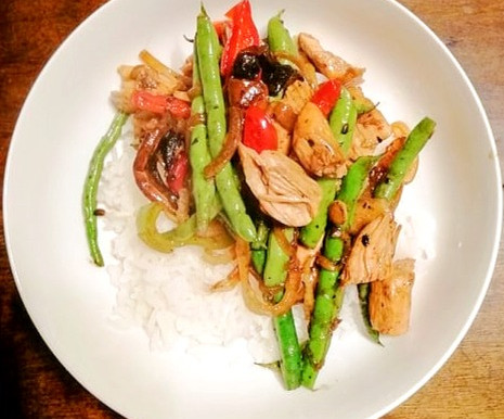 Stir it up: Teriyaki chicken stir-fry