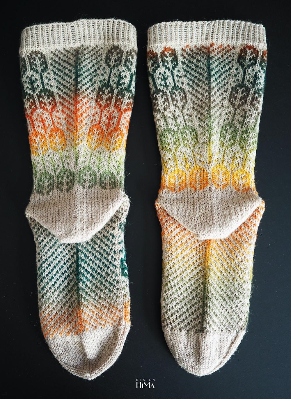Syysmetsä-sukat kiila ja pohja