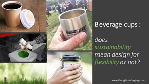 which future for paper cup in food service & catering businesses?