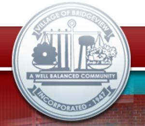 village of bridgeview illinois logo