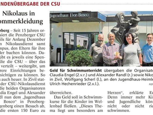 Penzberger Merkur: Nikolaus im Sommerkleid