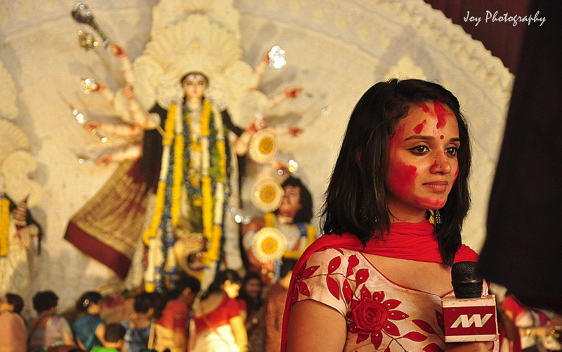 Delhi Puja reporting bengali culture and tradition