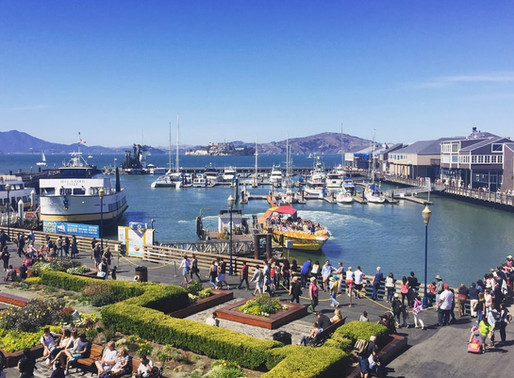 Play Tourist at the Fisherman's Wharf