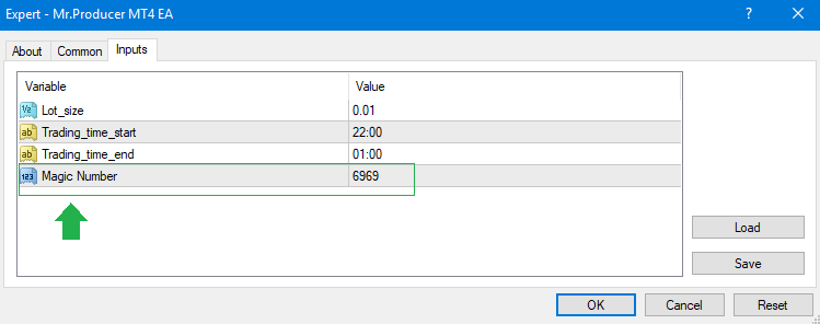 What is the magic number and how to use it in MT4 and MT5 EA Eaproducer.com