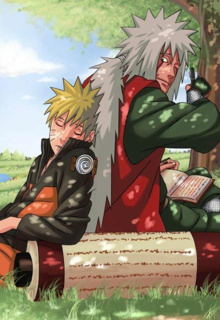 Teacher's Day Special: Naruto Uzumaki and Jiraiya