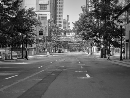 Empty Streets - Uptown Charlotte