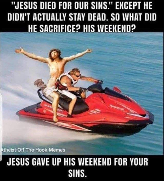 Funny Offensive Jesus Memes