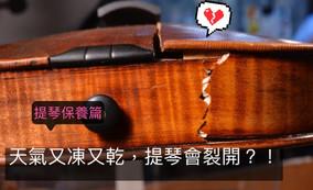 小提琴保養 - 秋冬篇