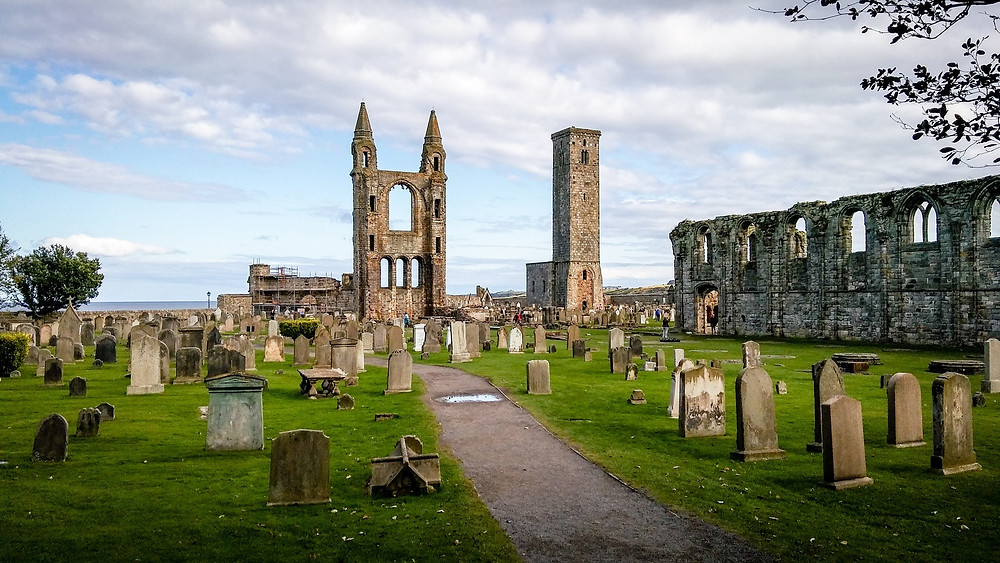 St Andrews Cathedral in Scotland