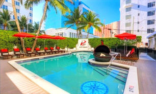 South Beach Hotel With Bottle Of Champagne, Daily Cocktails From $67 Per Night