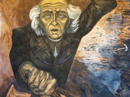 José Clemente Orozco, uno de los tres grandes de la plástica mexicana.