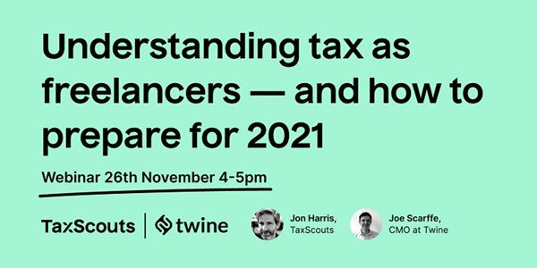 Webinar on tax matters for freelancers by Accounting for Actors