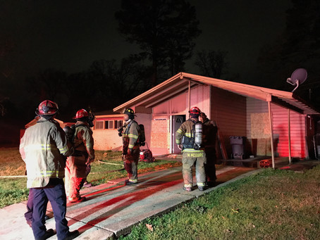 Abandoned House Burns on Wyngate Boulevard